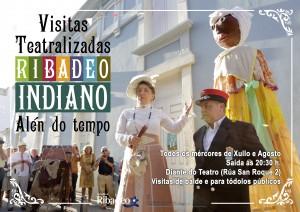 visitas teatralizadas cartel